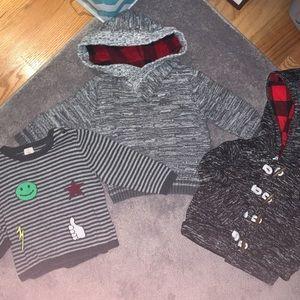 Toddler sweater bundle (3)